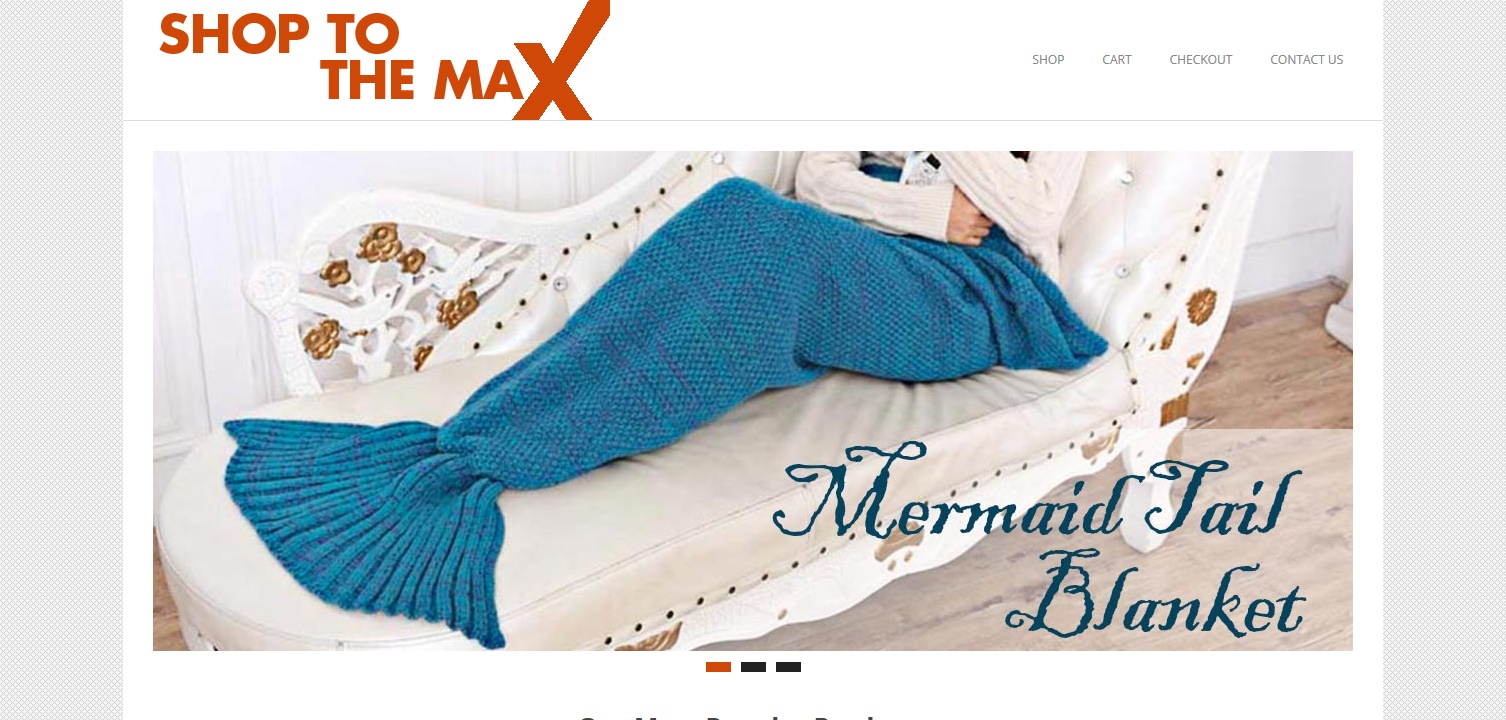 Shop to the Max Website