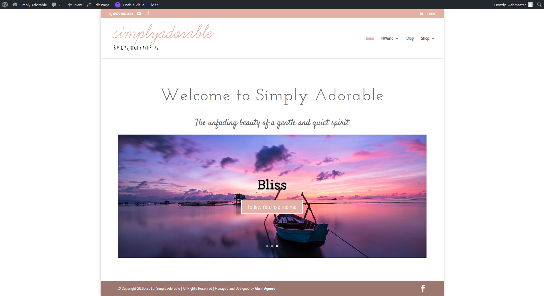 Simply Adorable Website